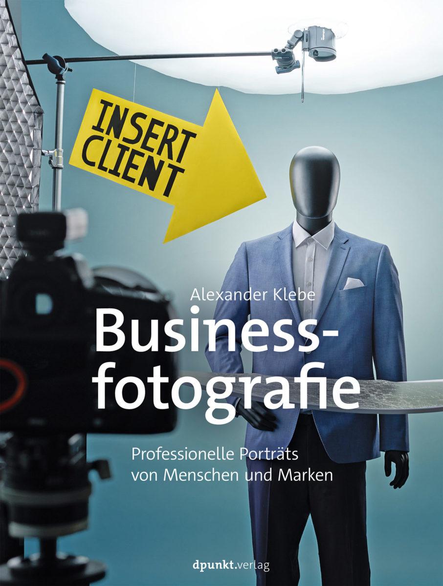 Buch Cover Business Fotografie - Professionelle Porträts von Menschen und Marken